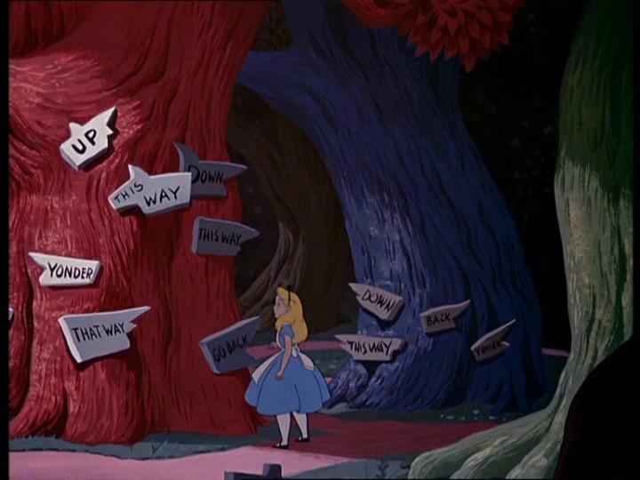 Alice - direzioni